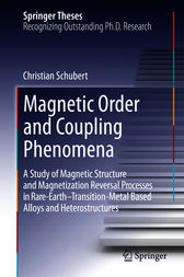 Magnetic Order and Coupling Phenomena by Christian Schubert