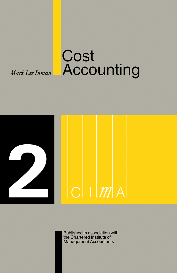 Download Ebook Cost Accounting by Mark Lee Inman Pdf