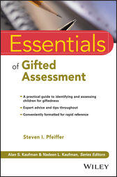 Essentials of Gifted Assessment by Steven I. Pfeiffer