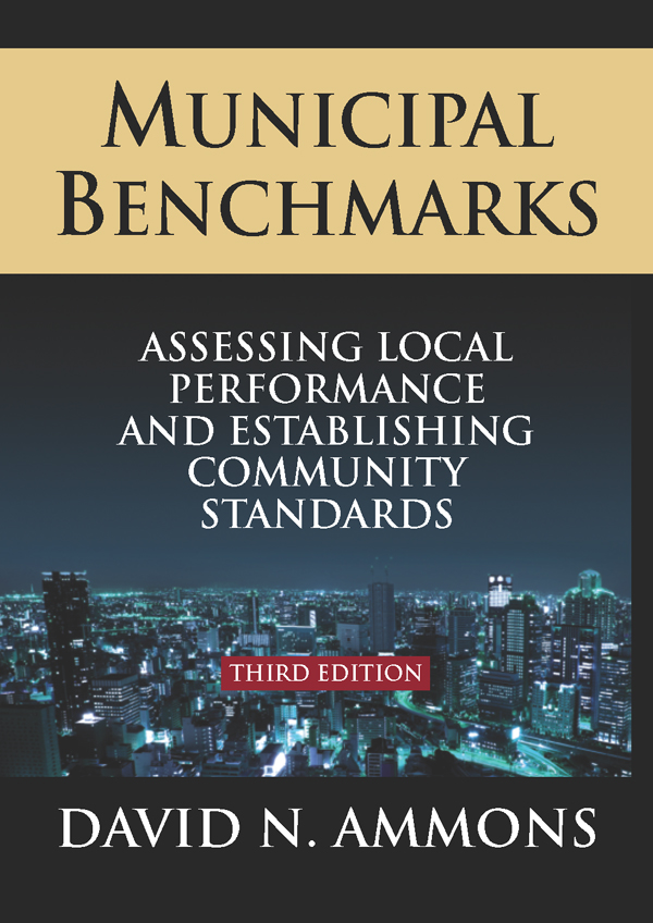 Download Ebook Municipal Benchmarks: Assessing Local Perfomance and Establishing Community Standards (3rd ed.) by David Ammons Pdf