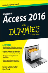 Access 2016 For Dummies by Laurie Ulrich Fuller