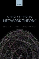 A First Course in Network Theory by Ernesto Estrada
