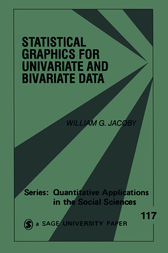 Statistical Graphics for Univariate and Bivariate Data by William G. Jacoby