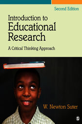 Introduction to Educational Research by W. (William) Newton Suter