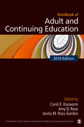 Handbook of Adult and Continuing Education by Carol E. Kasworm