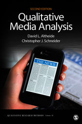 Qualitative Media Analysis by David L. Altheide