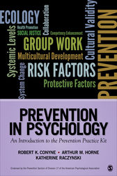 Prevention in Psychology by Robert K. Conyne
