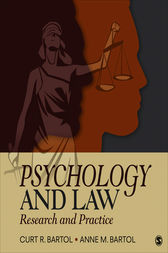 Psychology and Law by Curtis R. Bartol