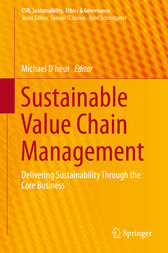 Sustainable Value Chain Management by Michael D'heur