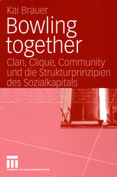 Bowling together by Kai Brauer