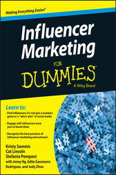 Influencer Marketing For Dummies by Kristy Sammis