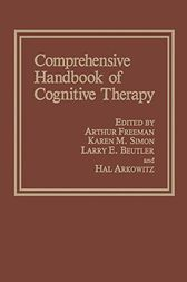 Comprehensive Handbook of Cognitive Therapy by Hal Arkowitz