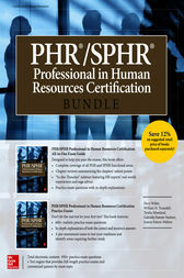 PHR/SPHR Professional in Human Resources Certification Bundle by Dory Willer