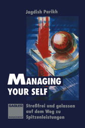 Managing Your Self by Jagdish Parikh