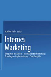 Internes Marketing by Bruhn Manfred