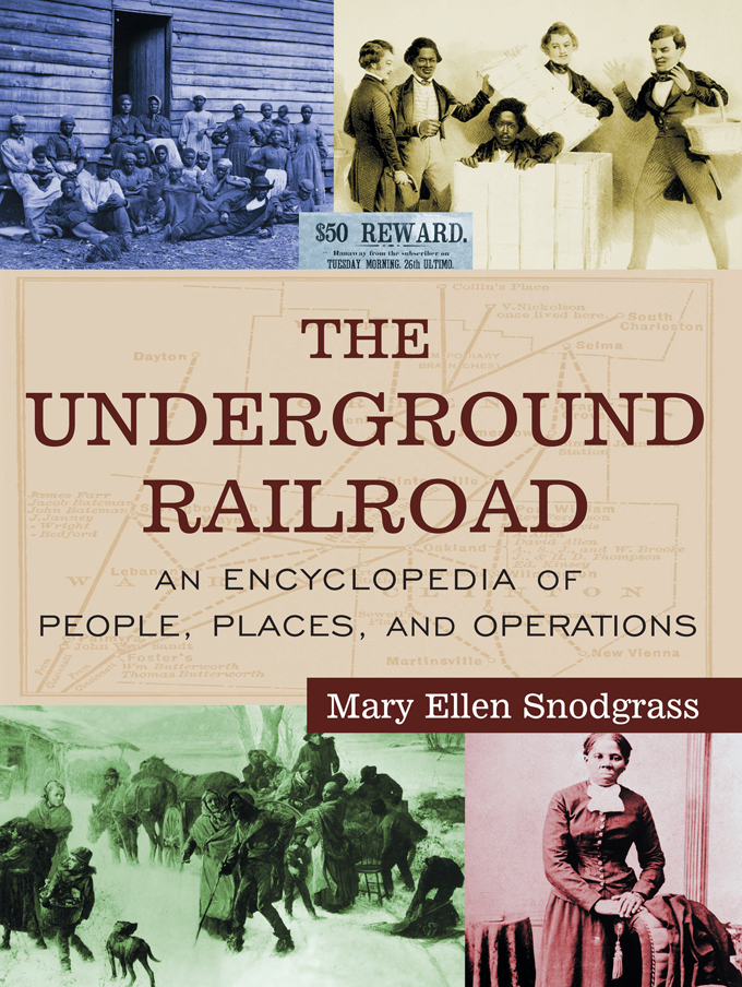 Download Ebook The Underground Railroad by Mary Ellen Snodgrass Pdf
