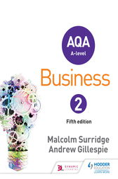 AQA Business for A Level 2 by Malcolm Surridge