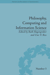 Philosophy, Computing and Information Science by Ruth Hagengruber