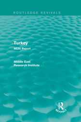 Turkey (Routledge Revival) by Middle East Research Institute