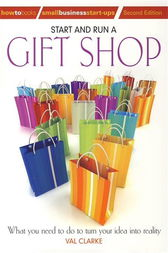 Start And Run A Gift Shop by Val Clarke