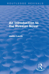An Introduction to the Russian Novel by Janko Lavrin