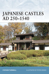Japanese Castles AD 250-1540 by Stephen Turnbull