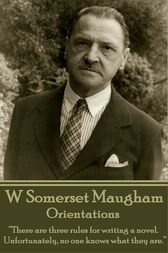 Orientations by W Somerset Maugham