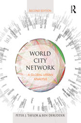 World City Network by Peter J. Taylor
