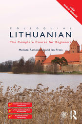Colloquial Lithuanian by Meilute Ramoniene