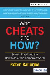 Who Cheats and How? by Robin Banerjee