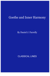 Goethe and Inner Harmony by Daniel J. Farrelly