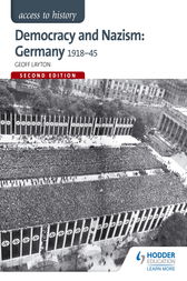 Access to History: Democracy and Nazism: Germany 1918-45 for AQA by Geoff Layton