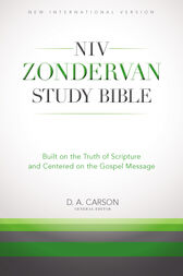 The NIV Zondervan Study Bible, eBook by Richard Hess