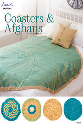Coasters & Afghans Knit Pattern by Annie's