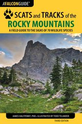 Scats and Tracks of the Rocky Mountains by James Halfpenny