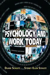Psychology and Work Today by Duane Schultz