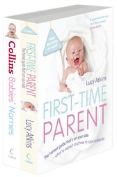 First-Time Parent and Gem Babies' Names Bundle by Lucy Atkins