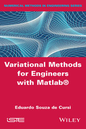Variational Methods for Engineers with Matlab by Eduardo Souza de Cursi