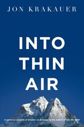 Into Thin Air Jon Krakauer Epub