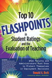 Top 10 Flashpoints in Student Ratings and the Evaluation of Teaching by Wilbert J. McKeachie