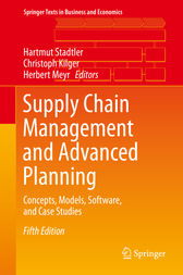 Supply Chain Management and Advanced Planning by Hartmut Stadtler