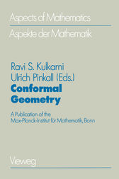 Conformal Geometry by Ravi S. Kulkarni