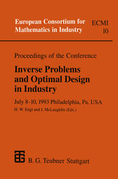 Proceedings of the Conference Inverse Problems and Optimal Design in Industry by Heinz Engl