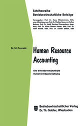 Human Resource Accounting by Michael Conrads