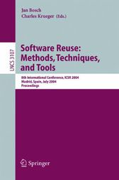 Software Reuse: Methods, Techniques, and Tools by Jan Bosch