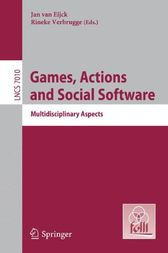 Games, Actions, and Social Software by Jan van Eijck