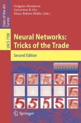 Neural Networks: Tricks of the Trade by Grégoire Montavon