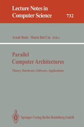 Parallel Computer Architectures by Arndt Bode