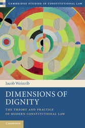 Dimensions of Dignity by Jacob Weinrib