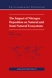 The Impact of Nitrogen Deposition on Natural and Semi-Natural Ecosystems by S.J. Langan